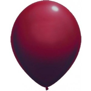 Baloane latex standard 13 cm visiniu