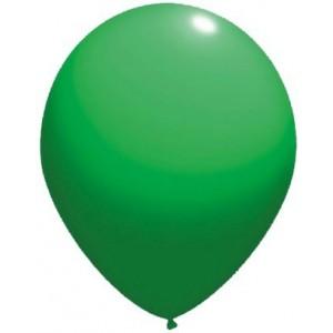 Balloons latex-standard 13 cm green