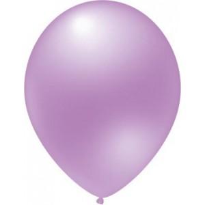 balloons latex metallic bright purple 30 cm