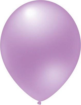 baloane latex metalizate violet luminos 30 cm