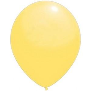 baloane latex standard 30 cm galben deschis