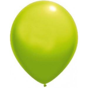 latex balloons standard 30 cm light green