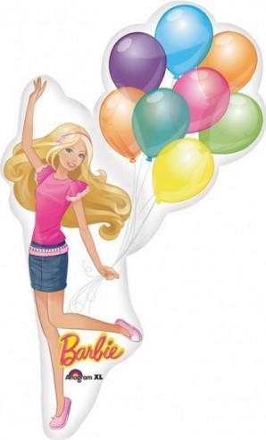 FOIL BALLOONS FIGURINE BARBIE 55CMX78CM